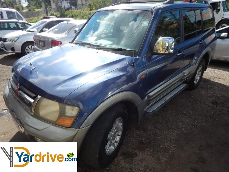 2002 Mitsubishi Pajero  YD743504E11 Vehicle Photo