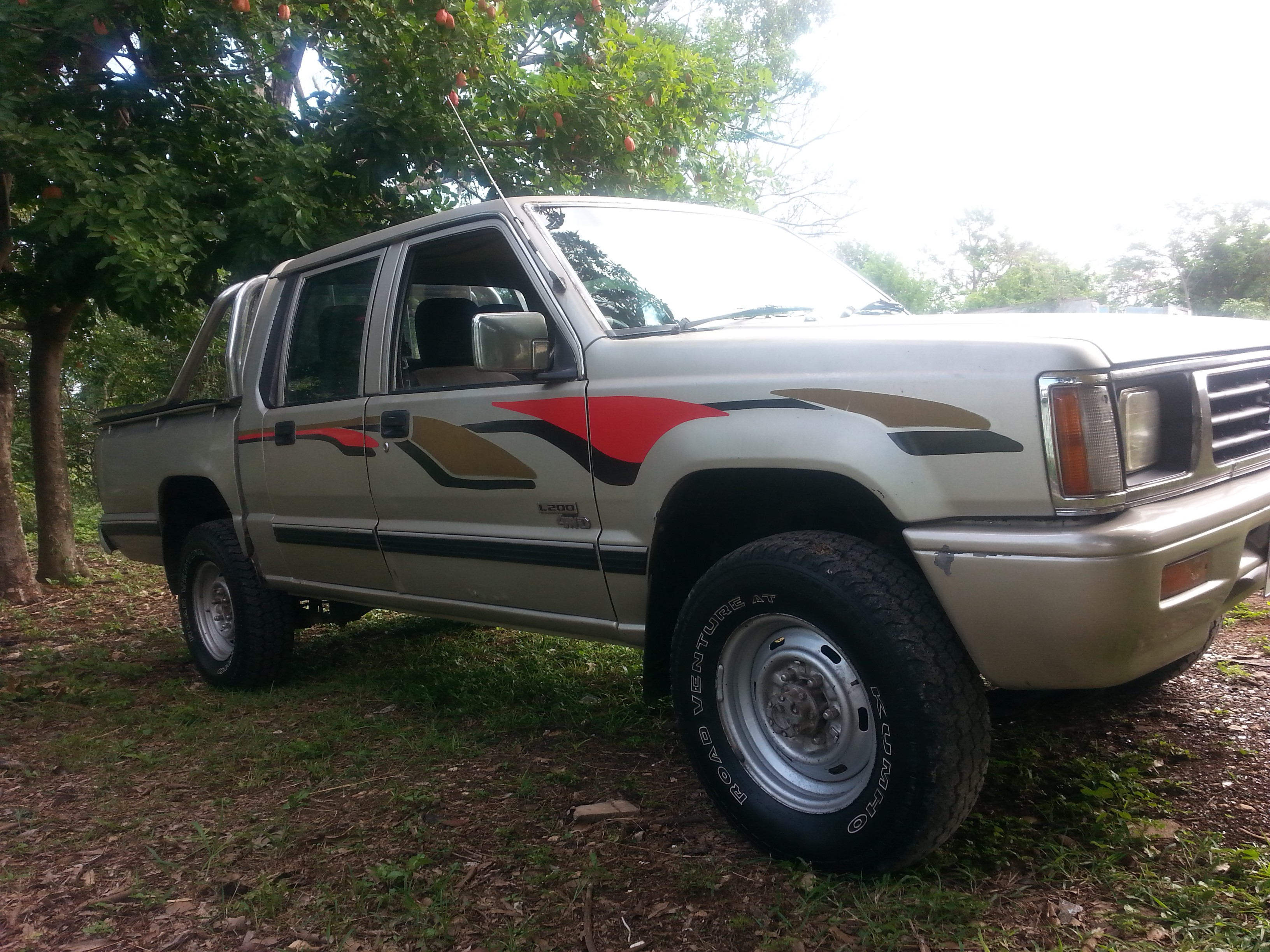 144d518f60 Cars for sale in Jamaica 1996 Used Mitsubishi L200 Twin Cab 4x4 Truck   490