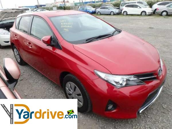 2013 Used Toyota Auris Hatchback For Sale In Jamaica