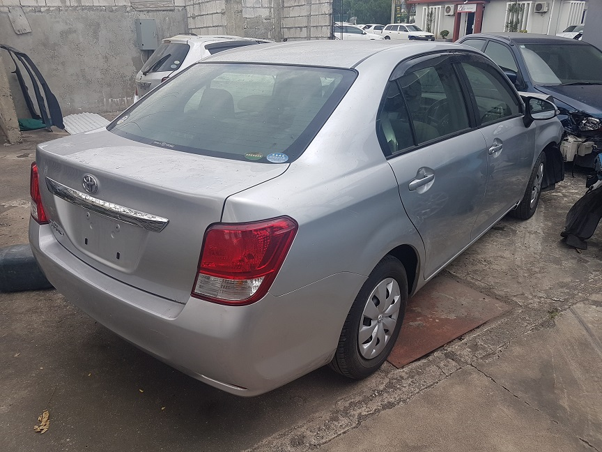 Cars For Sale In Jamaica >> 2014 Salvage Or Crashed Toyota Axio Sedan For Sale In