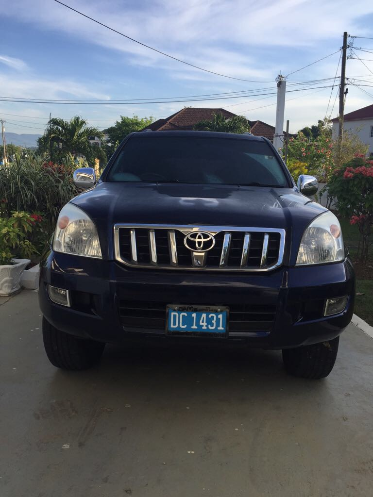 2008 Used Toyota Land Cruiser Prado Suv For Sale In Jamaica Car Cars 2400000