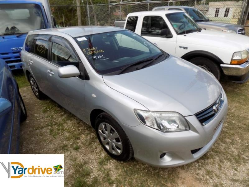 Cars For Sale In Jamaica With Financing: Cars For Sale In Jamaica 2011 Used Toyota Fielder Wagon