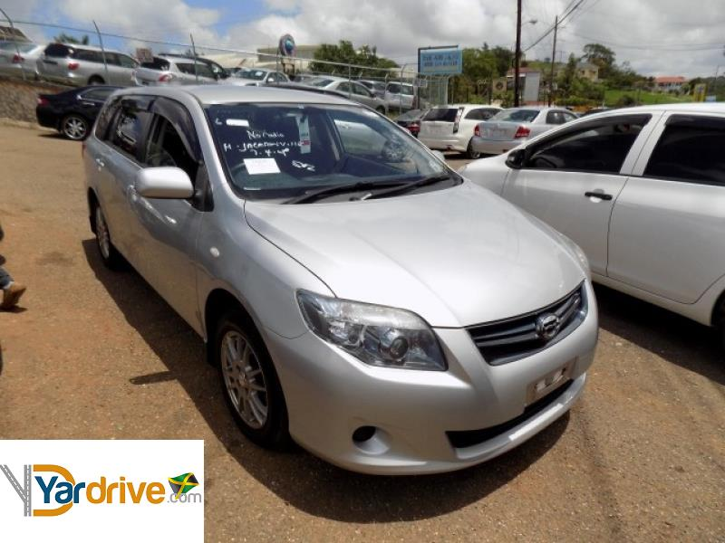 Cars For Sale In Jamaica With Financing: Cars For Sale In Jamaica 2012 Used Toyota Fielder Wagon