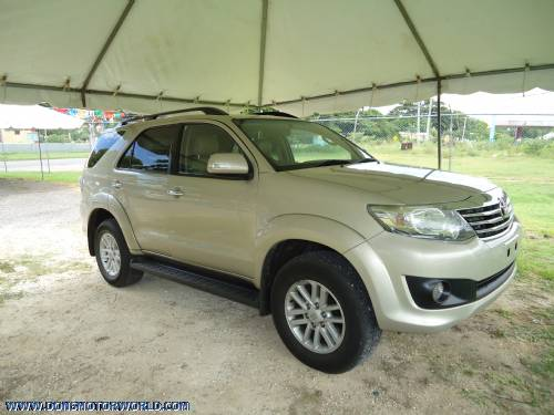 Cars For Sale In Jamaica Used Toyota Fortuner Suv Call For