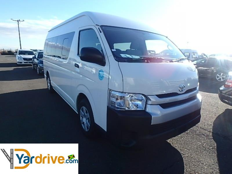 2016 Used Toyota Hiace Commuter Other for sale in Jamaica