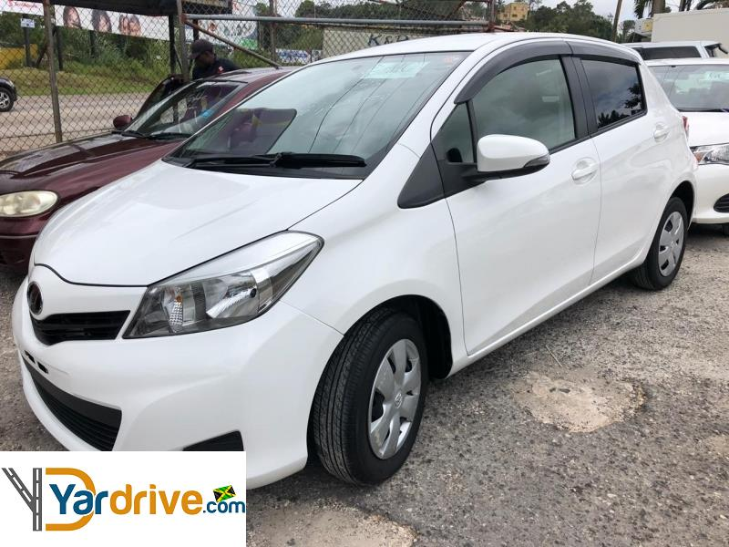 2013 Used Toyota Vitz Hatchback For Sale In Jamaica
