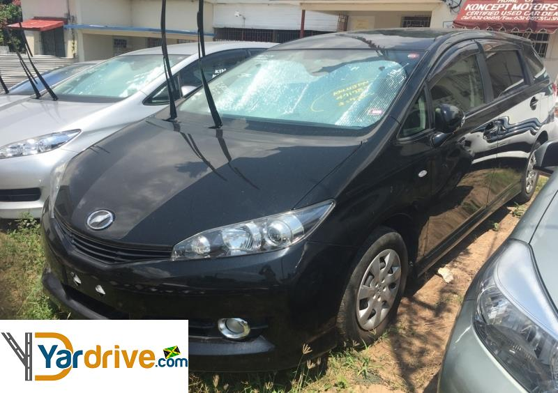 2011 Used Toyota Wish Hatchback For Sale In Jamaica