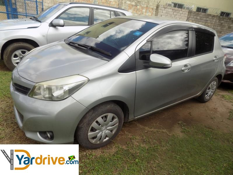 2011 Used Toyota Vitz Hatchback For Sale In Jamaica