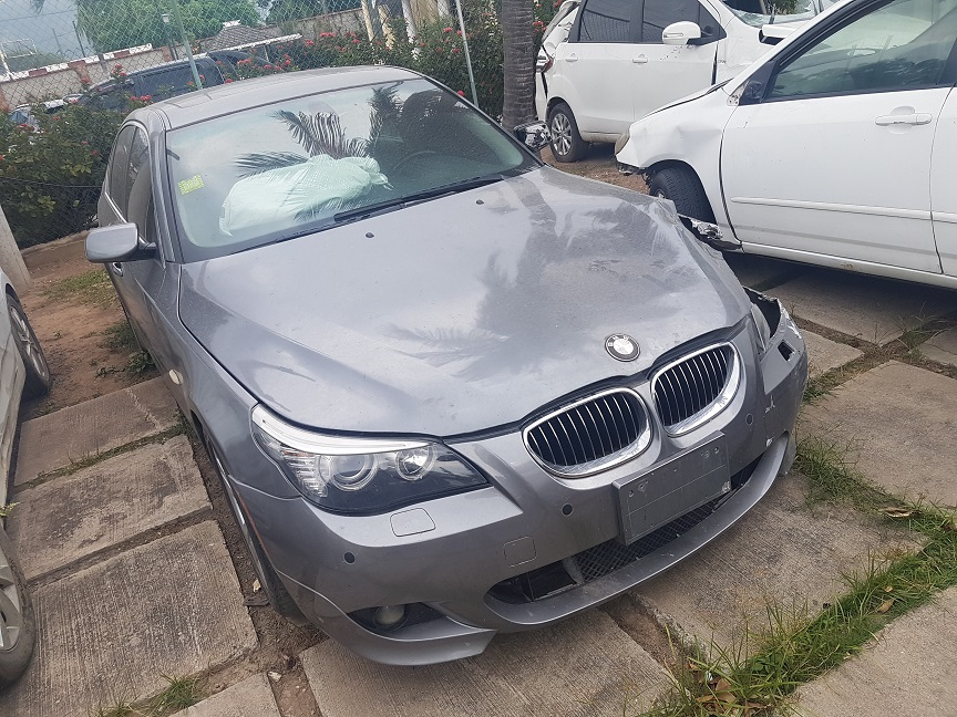 Cars For Sale In Jamaica 2010 Salvage Or Crashed BMW 528i