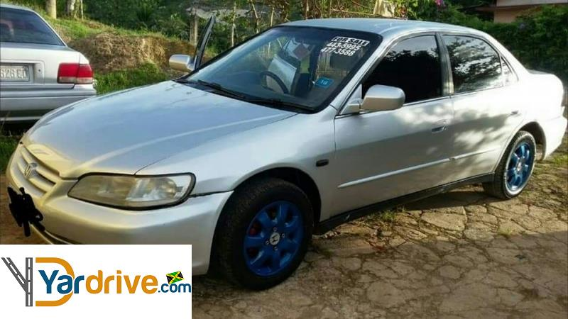 Cars For Sale In Jamaica With Financing: Cars For Sale In Jamaica 2002 Used Honda Accord Sedan