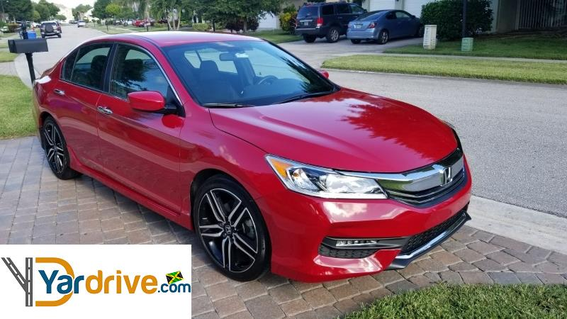 2016 used honda accord sport other for sale in jamaica 3 300 000 yardrive vehicle id yd326983f10. Black Bedroom Furniture Sets. Home Design Ideas